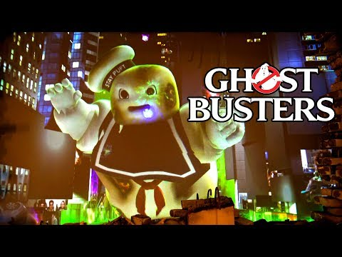 Ghostbusters Shooting Dark Ride Complete Ride Through POV Motiongate Theme Park Dubai UAE