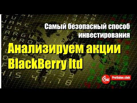 Анализируем акции BlackBerry ltd