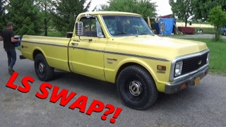 1972 Chevy C20 LS Swap!!! - Dean's New Project