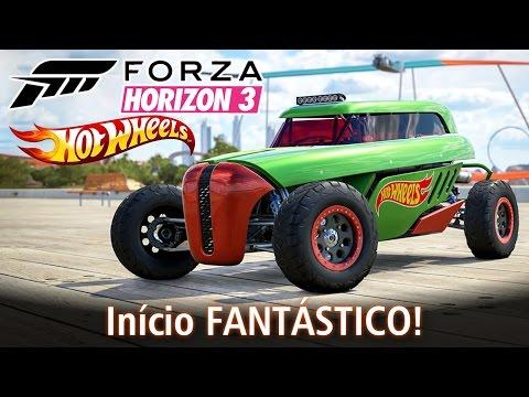 Início FANTÁSTICO da Expansão Hot Wheels! | Forza Horizon 3