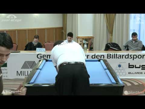 Billard Bundesliga, Ernst vs Belka Straight Pool