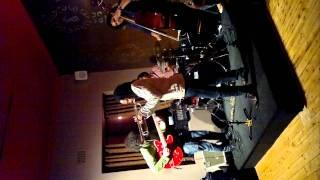 Lwanda Gogwana with the Sisonke Xonti Quartet, at Mojo