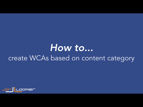 How to Create Audiences Based on Website Content Category (Quick, Silent Tutorial)