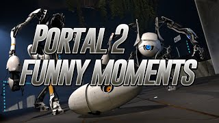 portal 2 funny moments 1 (DarkSwitchPro and There Really Was A Cake)