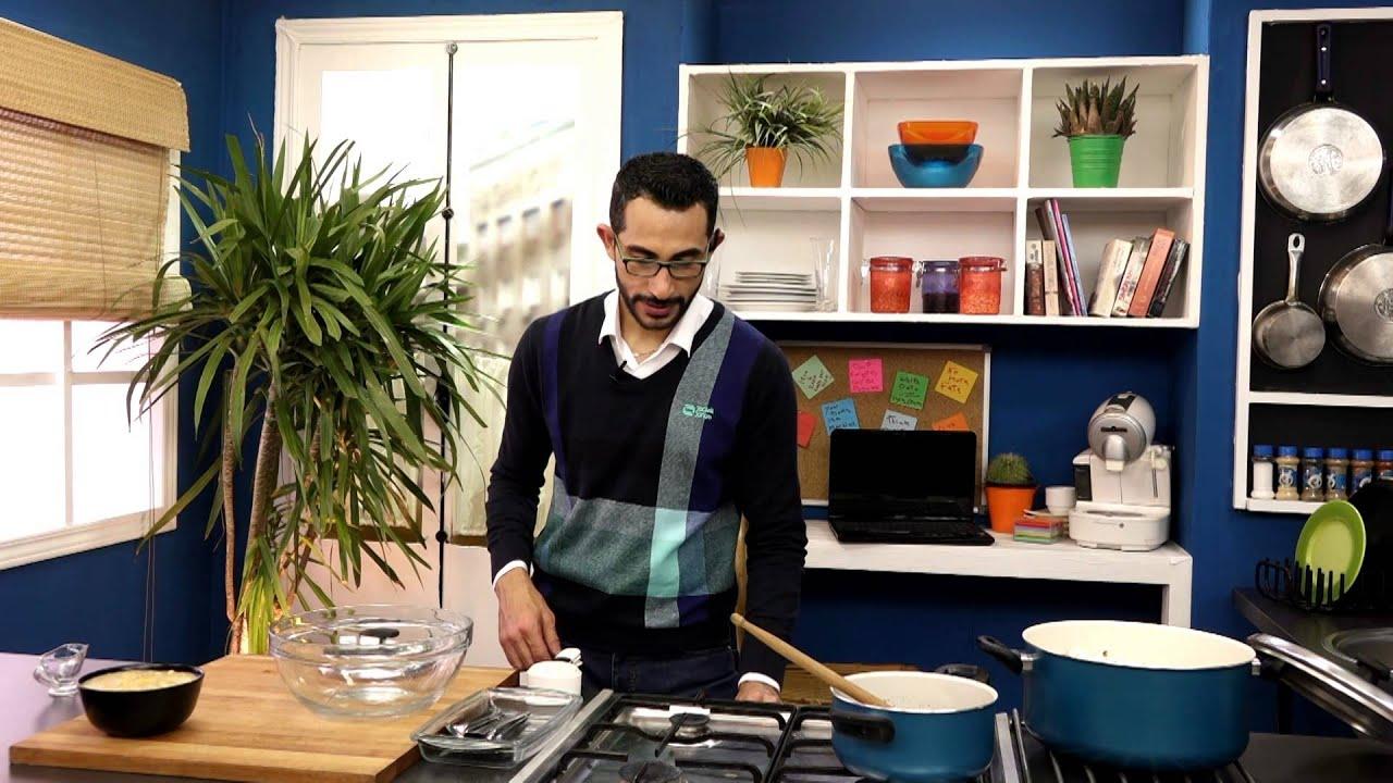 شوربة الذرة بالدجاج و الكريمة وفيشار بالشوكولاتة مع هانى عبد الناصر فى سوبر هاتريك (الجزء الثانى)