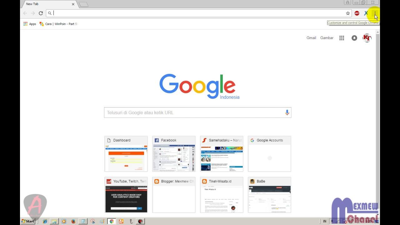 Cara Mudah Menghapus Ekstensi/Add Ons di Google Chrome - YouTube