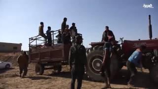 استمرار موجات النزوح من شرق الموصل