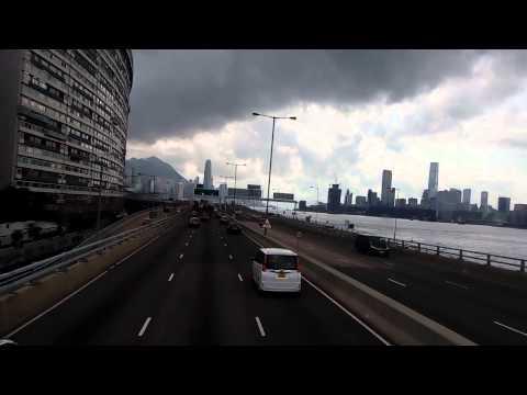 Bus Trip from Hong Kong Quarry Bay to Causeway