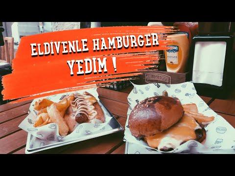 BURADA HAMBURGER ELDİVENLE YENİYOR!