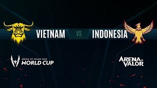 VN vs ID | Group Stage Day 1 | AWC 2018