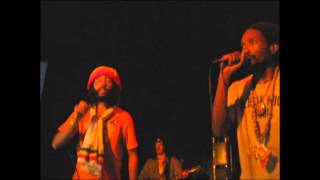 Protoje, Kabaka & Chronixx - The Seven Year Itch/Warrior/Capitalist - Live, Costa Rica 2012
