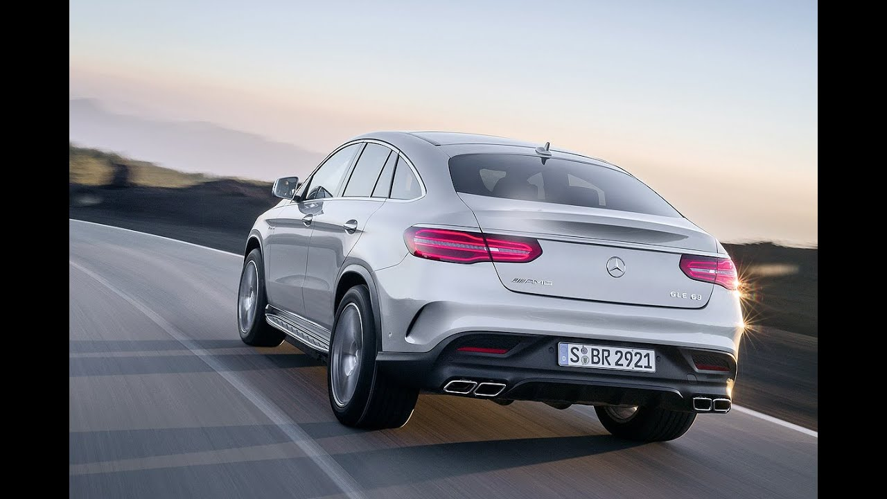 mercedes amg gle  coupe weltpremiere  detroit youtube