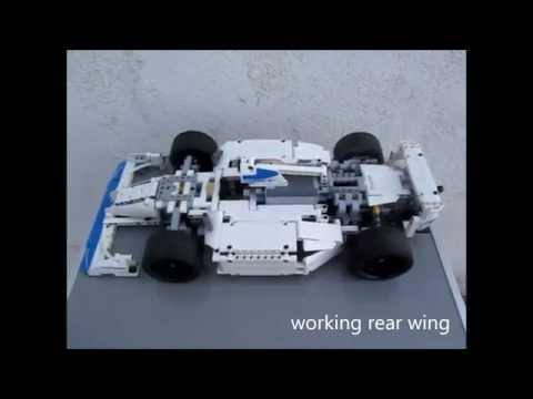 lego technic RC formula 1 race car moc