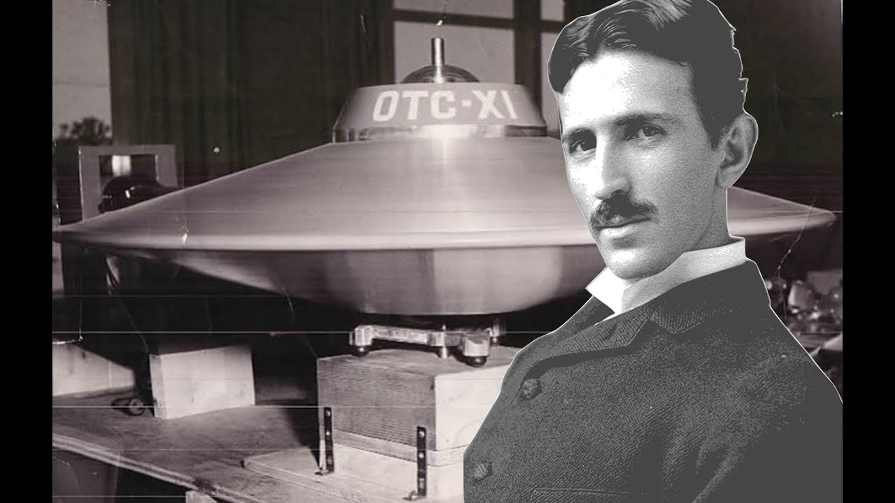Image result for Nikola Tesla UFO