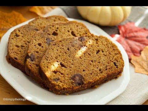FOOLPROOF Pumpkin Chocolate Chip Bread   Simply Bakings