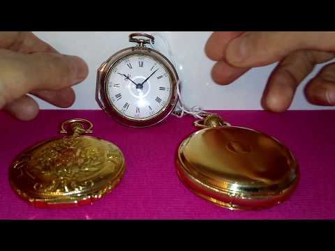 English Pocket Watches And American Pocket Watches