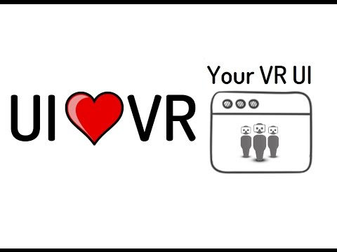 [YourVRUI Unity Plugin]: Forget about UI programming in VR/AR