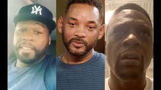 50 Cent & Boosie React To Jada Pinkett Cheating On Will Smith With August Alsina