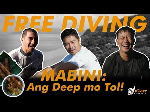 MABINI: Ang Deep Mo 'Tol! | Free Diving | D LaZY Road Trip |