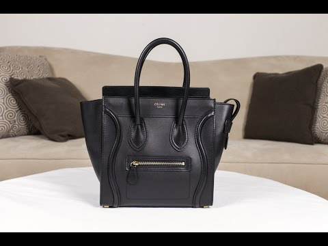 celine micro luggage tote price