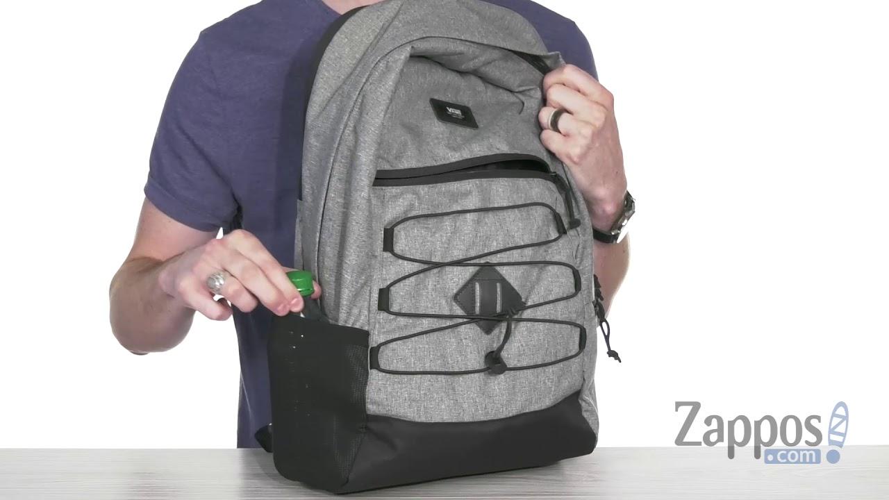 ebf6b3b8c1 Vans Snag Plus Backpack SKU  9098702 - YouTube