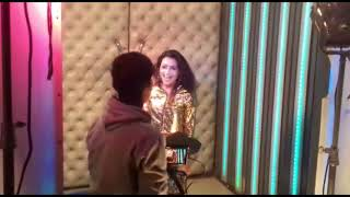 Baby in the club making video || Amrik Rapper || Tanish Rohil || Power Unlimited