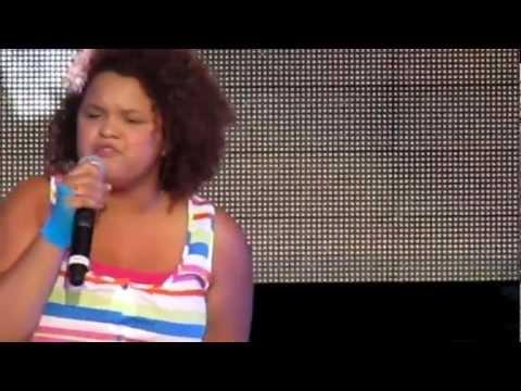 Rachel Crow - Mean Girls - Jones Beach 08.17.12 Big Time Summer Tour