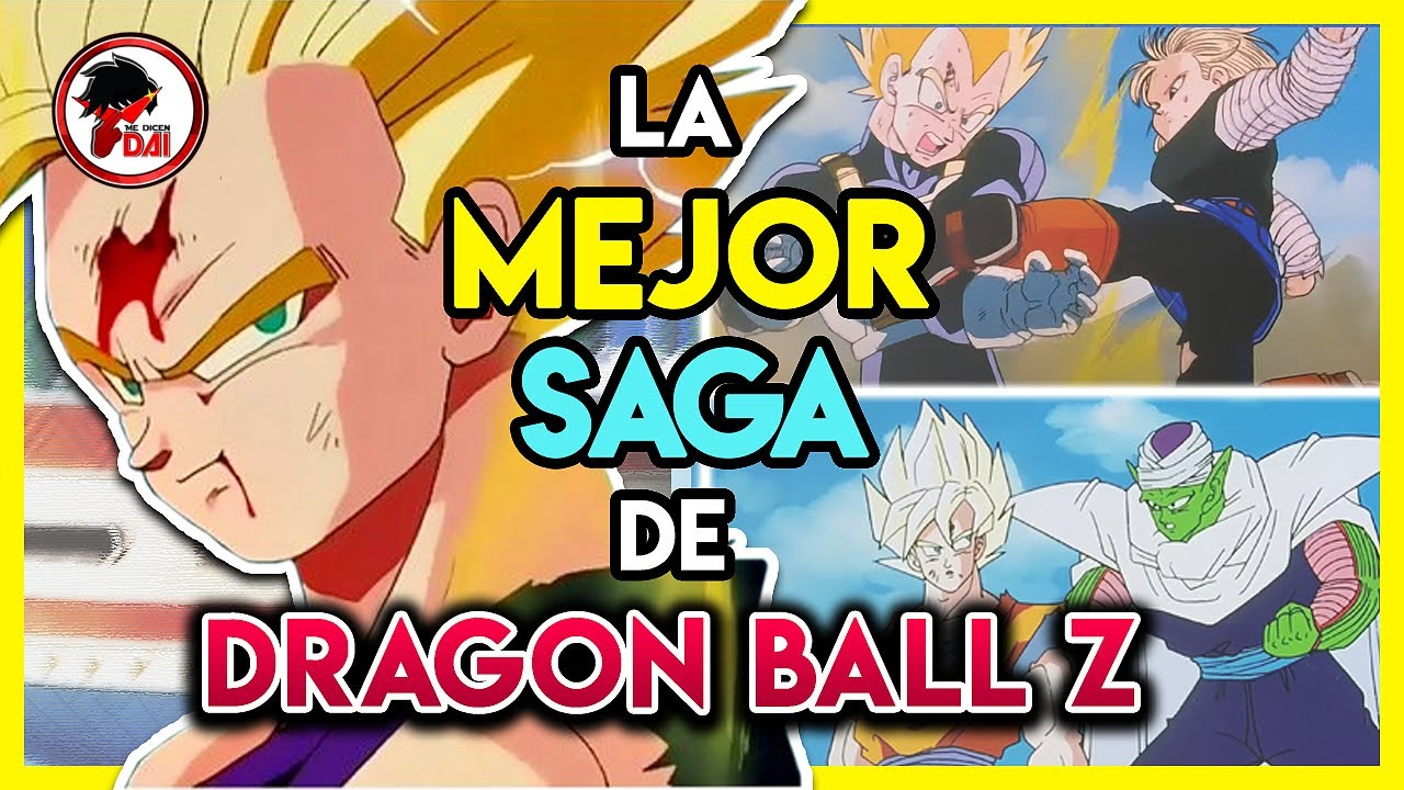 DBZ: La MEJOR SAGA de TODO Dragon Ball Z