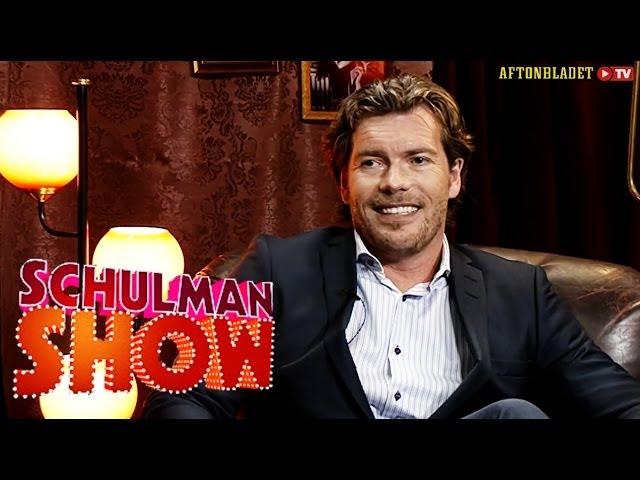 Patrick Grimlund i Schulman Show