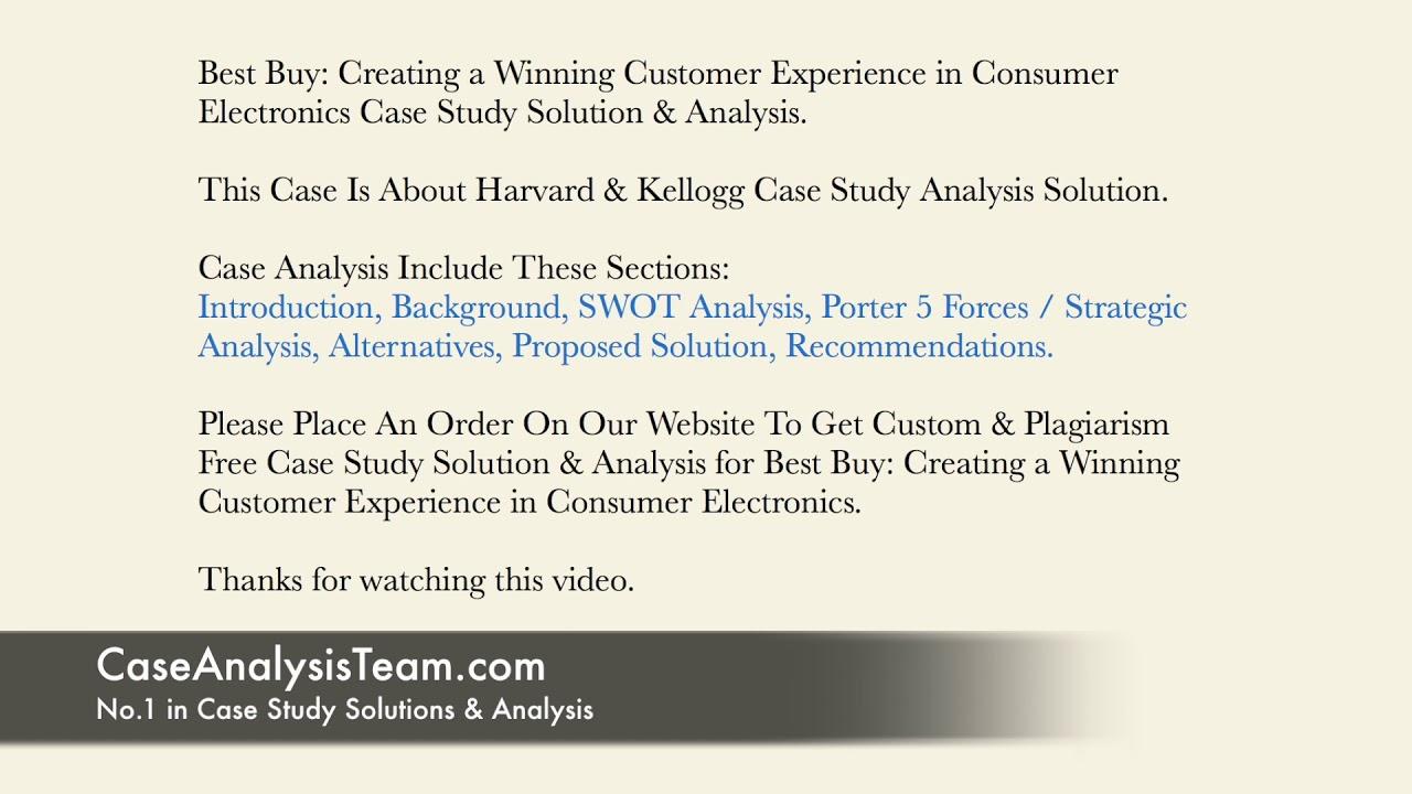 Best buy customer centric case study