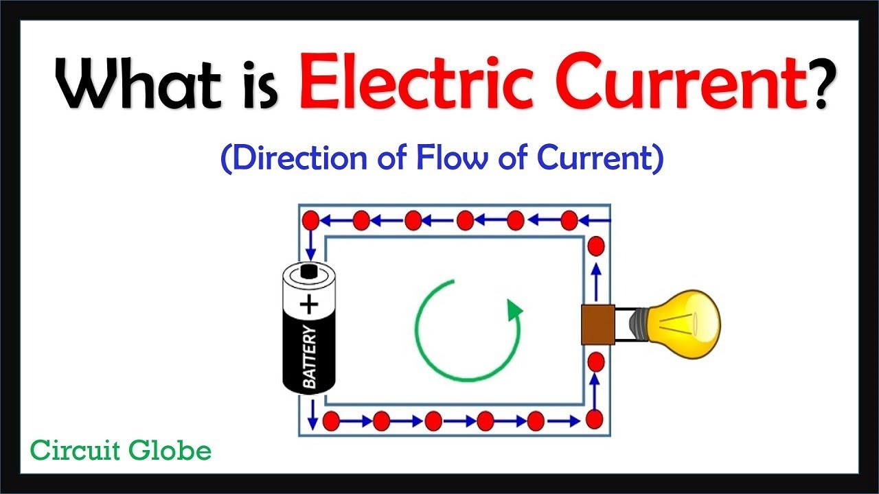 What Is Electric Cur Definition Direction Of Flow