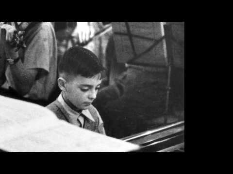 Allan Schiller at age 11. Mozart Piano Concerto in G at the