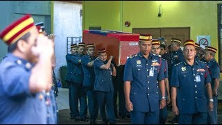 [LIVE] Jenazah Allahyarham Muhammad Adib tiba di Jabatan Unit Udara JBPM, Subang