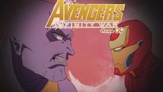 Мстители: Война бесконечности (Anime OP)