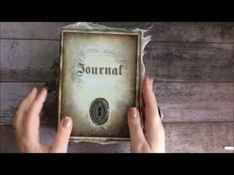 Mysterious Woman Journal Flip Through
