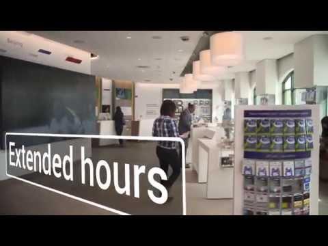 Retail concept store walk-through