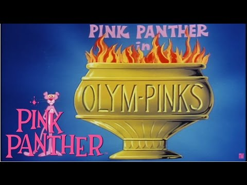 "The Pink Panther in ""OLYMPINKS!"" 