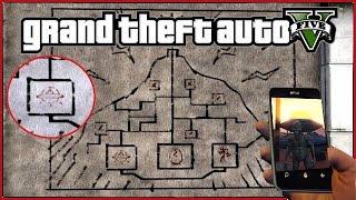 GTA 5 - НАЙДЕНО НЛО С РИСУНКА [Найден один предмет: ТАЙНА ГОРЫ ЧИЛИАД]