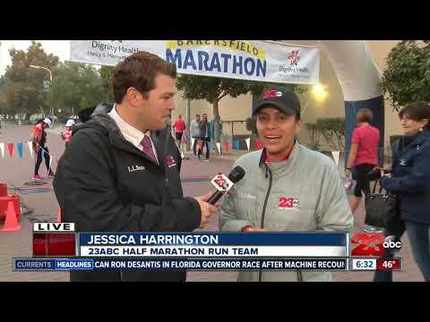 23ABC's Jessica Harrington ready for the half marathon