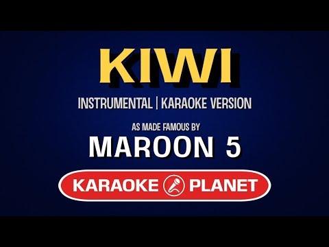 Kiwi - Maroon 5 | Karaoke LYRICS