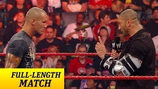 Batista returns from injury - Raw, Sept. 14, 2009