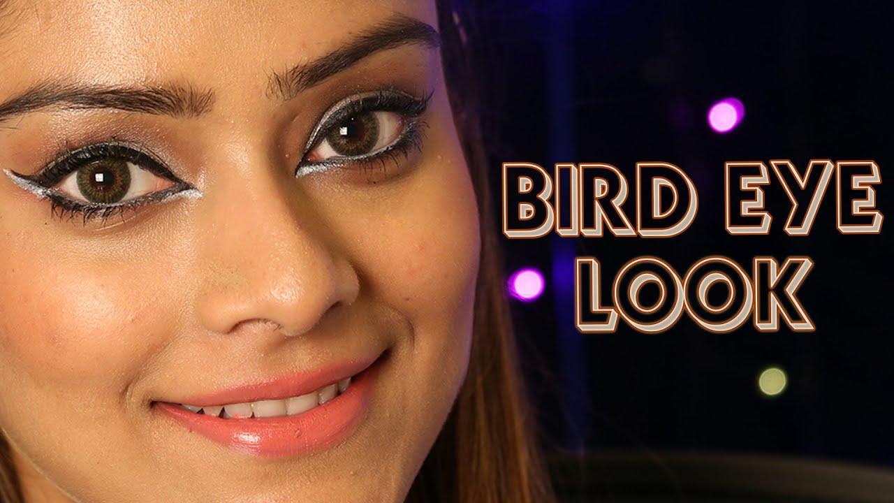 Bird Eye Look Diy Eyes Makeup How To Get Smokey Tutorial