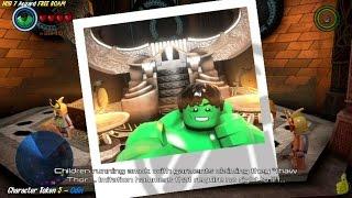 Lego Marvel Avengers: HUB 7 / Asgard FREE ROAM (All Collectibles) - HTG