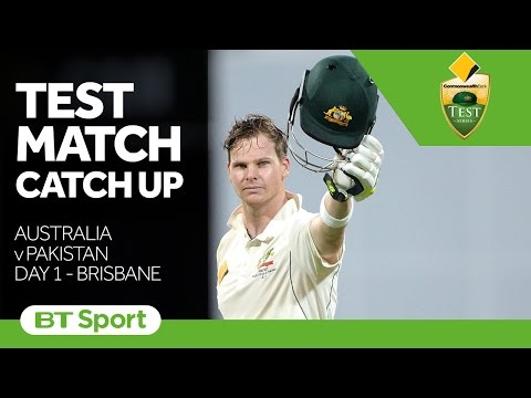 Test Match Catch Up   Australia v Pakistan  First Test  Day One Highlights New Flash Game