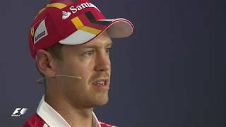 Vettel & Hamilton Discuss Baku Safety Car Clash | 2017 Austrian Grand Prix