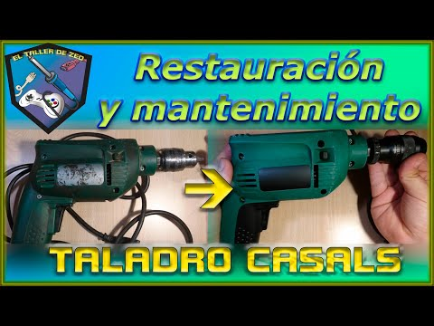 Restauración y mantenimiento: TALADRO CASALS