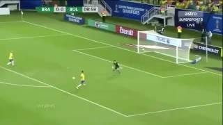 Бразилия 5:0 Боливия. Чемпионат Мира. Отборочный тур. 07.10.16(, 2016-10-07T13:20:04.000Z)
