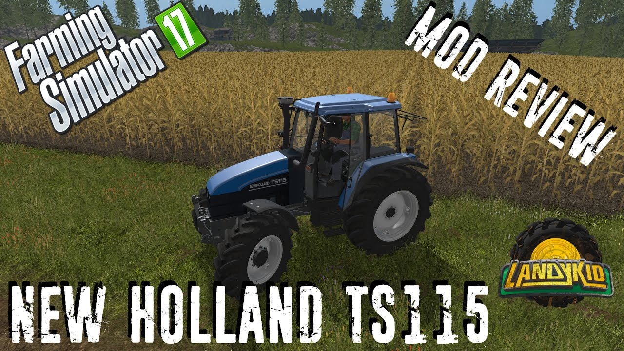 Mod Review | New Holland TS115