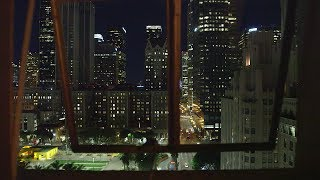 City View Night - Relaxing Video w/City Sounds