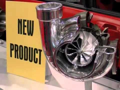 SEMA 2010 Garrett GTX-Series Mid-Frame Turbos